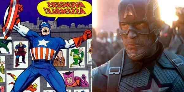 El video de la fase 3 de MCU muestra cómo las escenas de las películas de Marvel se comparan con los cómics