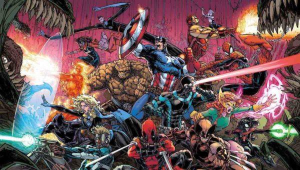 Los Vengadores se unen a la batalla contra el rey de negro