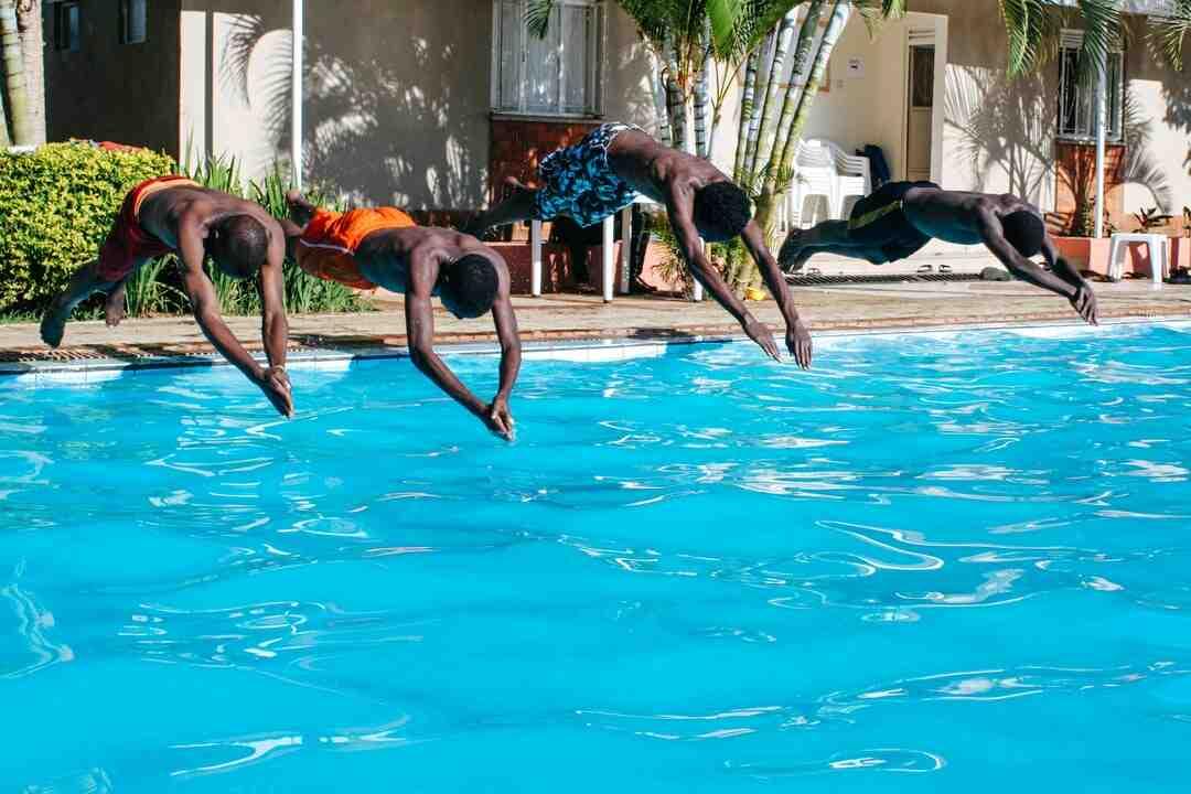 ¿Qué es la inmersión en la natación?